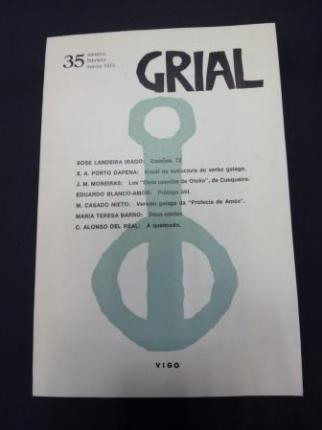 GRIAL. Revista Galega de Cultura. Número 35. Xaneiro, febreiro, marzo 1972 - Ver os detalles do produto