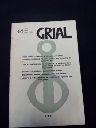 GRIAL. Revista Galega de Cultura. Número 48. Abril, maio, xuño, 1975 (Obra de teatro de Bernardino Graña: Sinfarainín contra do Perfeuto) - Ver os detalles do produto