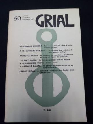 GRIAL. Revista Galega de Cultura. Número 50. Outubro, Novembro, Decembro, 1975 - Ver os detalles do produto