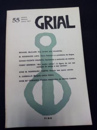 GRIAL. Revista Galega de Cultura. Número 55. Xaneiro, febreiro, marzo 1977 - Ver os detalles do produto