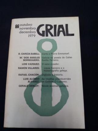 GRIAL. Revista Galega de Cultura. Número 66. Otubro, Novembro, Decembro, 1979 - Ver os detalles do produto