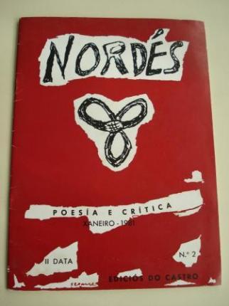 REVISTA NORDÉS. Poesía e Crítica. Número 2 . Xaneiro, 1981 - Ver os detalles do produto