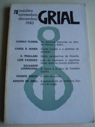 GRIAL. Revista Galega de Cultura. Número 70. Outubro, Novembro, Decembro, 1980 (Vicente Risco: O lobo da xente) - Ver os detalles do produto