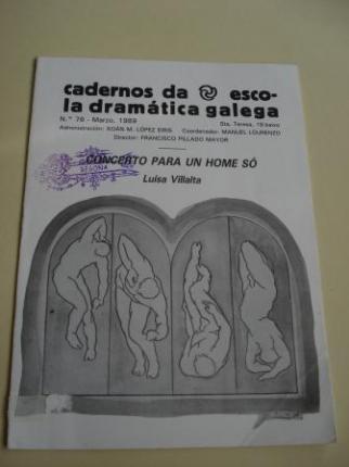 Cadernos da Escola Dramática Galega. Nº 76. Marzo, 1989. Concerto para un home só - Ver os detalles do produto