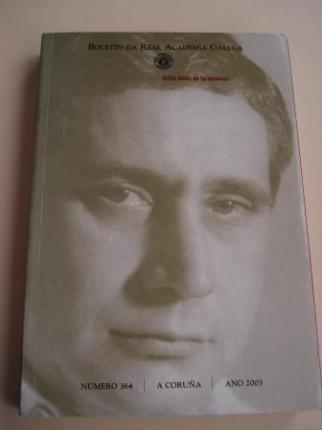 Antón Avilés de Taramancos. Boletín da Real Academia Galega. Número 364. A Coruña, 2003 - Ver os detalles do produto