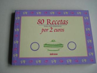 80 Recetas para dos personas por 2 euros - Ver os detalles do produto