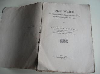 Diccionario de Artistas que florecieron en Galicia durante los siglos XVI y XVII - Ver os detalles do produto
