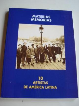 Materias Memorias. 10 artistas de América Latina. XXIV Bienal de Arte de Pontevedra, 1996 - Ver os detalles do produto