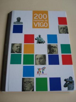 200 memorias de Vigo. FALTA 1 FASCÍCULO. Colección de 11 Fascículos para encadernar, con tapas e gardas. - Ver os detalles do produto