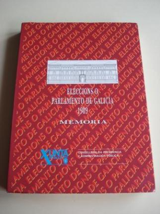 Eleccións ó Parlamento de Galicia 1989 - Memoria - Ver os detalles do produto