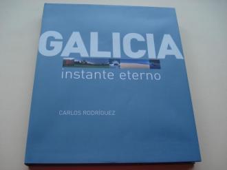 Galicia instante eterno. Fotografías en color de gran formato a toda páxina con despregables (triple páxina). En estoxo de cartón marrón - Ver os detalles do produto