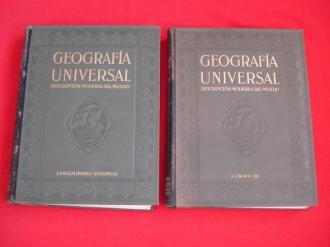 Geografía Universal. Descripción moderna del mundo (2ª edición revisada). Tomo I: Europa - Generalidades / Tomo II: Europa  - Ver os detalles do produto