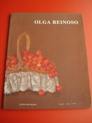 OLGA REINOSO. Catálogo Exposición Casa da Parra, Santiago de Compostela, 1993 - Ver os detalles do produto