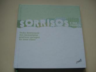 Sorrisos e boa colleita. Unha homenaxe dos humoristas gráficos galegos ao noso rural (Tamaño 21,5 x 21,5 cm) - Ver os detalles do produto