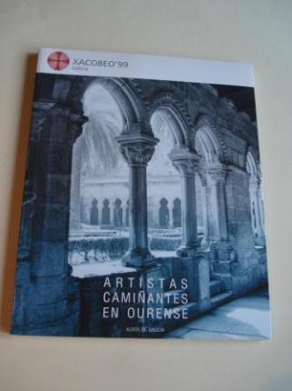 Artistas camiñantes en Ourense. Catálogo Exposición Albergue de Peregrinos de San Francisco. Ourense, 1999 - Ver os detalles do produto