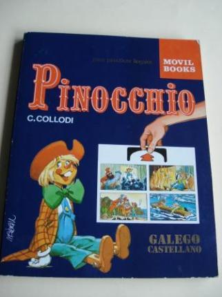 Pinocchio. Para practicar linguas. Galego-Castellano. Libro con sistema NABAU, con traducción alternativa instantánea - Ver os detalles do produto
