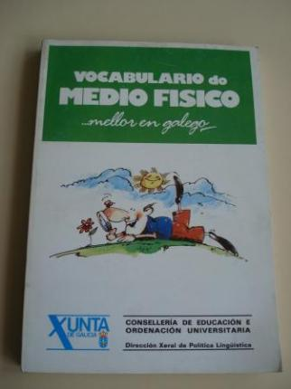 Vocabulario do medio físico... mellor en galego   (Con vocabularios galego-castelán e castelán-galego) - Ver os detalles do produto