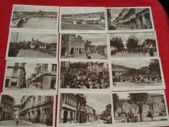 Lote de 12 tarxetas postais de Noia (Noya)- Década de 1920 - Ver os detalles do produto