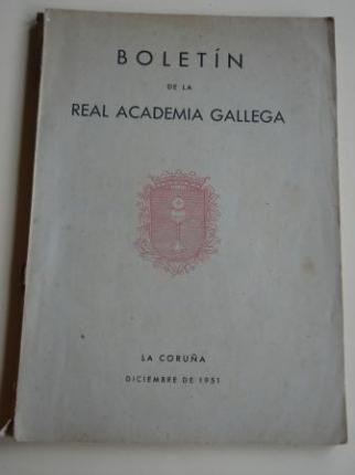Boletín de la Real Academia Gallega. Números 294-296. A Coruña, Diciembre de 1951 (Leandro Carré, Chao Espina, Ramón de Artaza...) - Ver os detalles do produto