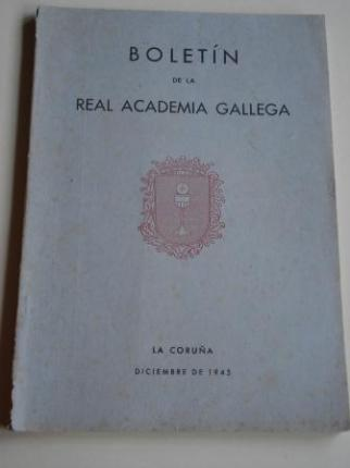 Boletín de la Real Academia Gallega. Números 285-288. A Coruña, Diciembre 1945 (Fernández Oxea, Leandro Carré, F. Bouza-Brey, Chao Espina...) - Ver os detalles do produto