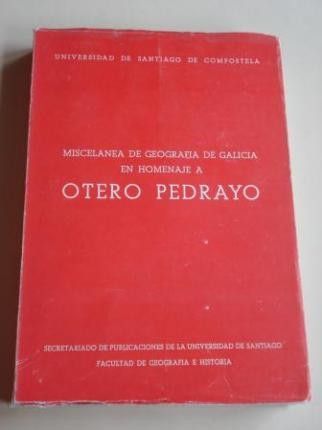 Miscelánea de Geografía de Galicia en Homenaje a Otero Pedrayo - Ver os detalles do produto
