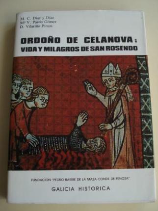 Ordoño de Celanova. Vida y milagros de San Rosendo (Apéndice anatomo-antropológico de José Carro Otero) - Ver os detalles do produto