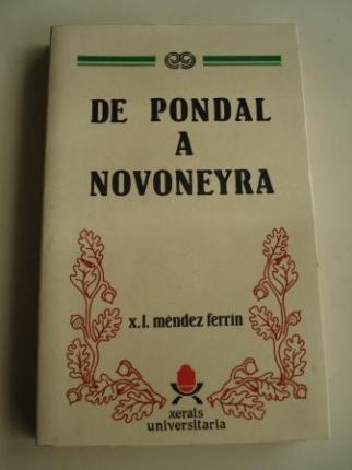 De Pondal a Novoneyra. Poesía galega posterior á guerra civil - Ver os detalles do produto