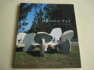 MANOLO PAZ. Esculturas. Catálogo en color. Textos de Fernando Huici en español e inglés - Ver os detalles do produto