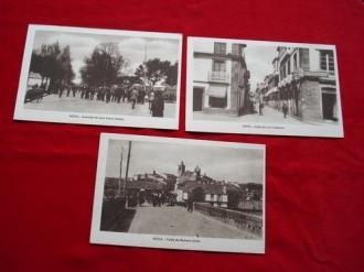 Lote de 3 tarxetas postais de Noia (Noya) - Década de 1920 - Ver os detalles do produto