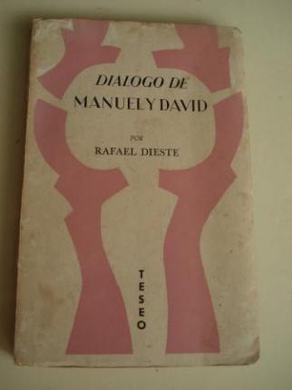 Diálogo de Manuel y David y otros ensayos - Ver os detalles do produto