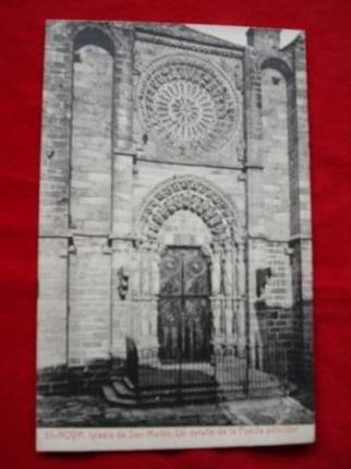 Tarxeta postal: Noia (Noya)- Igrexa San Martiño. 1920 - Ver os detalles do produto