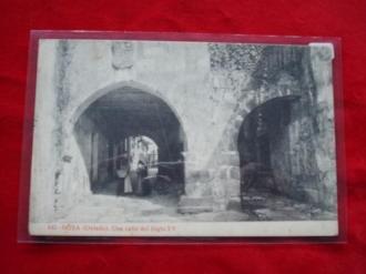 Tarxeta postal: Noia (Noya)- Unha rúa do século XV. 1920 - Ver os detalles do produto