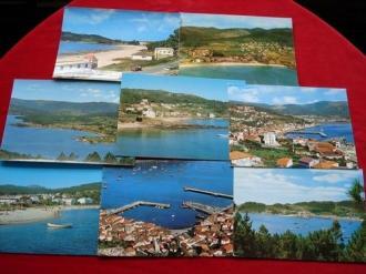 Lote de 8 tarxetas postais de Muros (A Coruña) - Ver os detalles do produto