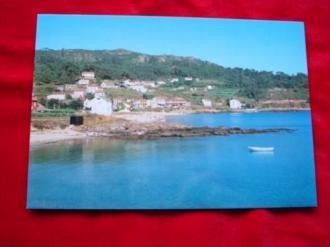 Tarxeta postal: Esteiro-Muros (A Coruña). Praia de Medrón. Anos 70 - Ver os detalles do produto