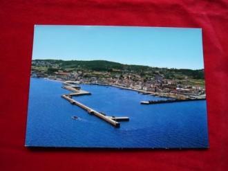 Tarxeta postal: Ribeira (A Coruña). Vista aérea. Década 1970 - Ver os detalles do produto
