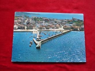Tarxeta postal: Porto do Son (A Coruña). Vista aérea. Década 1970 - Ver os detalles do produto