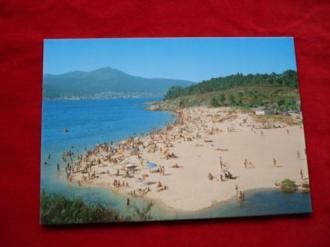 Tarxeta postal: Porto do Son (A Coruña). Portosín-Praia da Ornanda. Década 1970 - Ver os detalles do produto