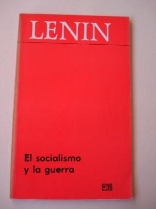 El socialismo y la guerra - Ver os detalles do produto