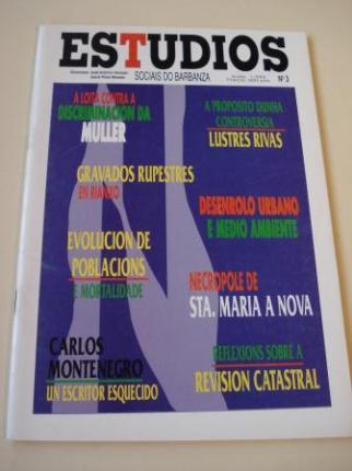 Estudios sociais do Barbanza. Revista. Número 3 - Ver os detalles do produto