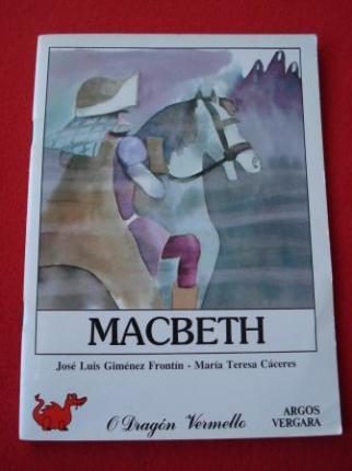 Macbeth (Ilustrado por Mª Teresa Cáceres) - Ver os detalles do produto