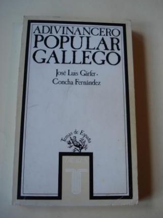 Adivinancero popular gallego  - Ver os detalles do produto