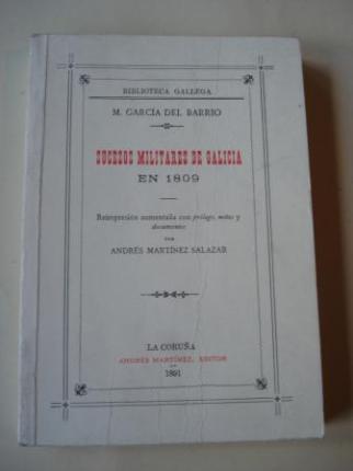 Sucesos militares de Galicia en 1809 (Edición facsímil de 1992) - Ver os detalles do produto