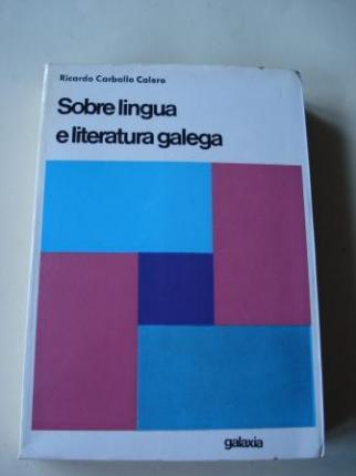 Sobre lingua e literatura galega - Ver os detalles do produto