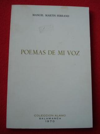 Poemas de mi voz - Ver os detalles do produto
