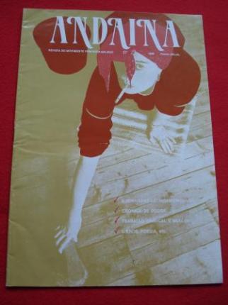 ANDAINA. Revista do Movimento Feminista. 1ª época. Nº 19. 1989  - Ver os detalles do produto