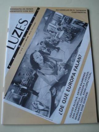 Luzes de Galiza. Nº 14-15 Inverno 1989-1990. Con suplemento: A outra Europa - Ver os detalles do produto