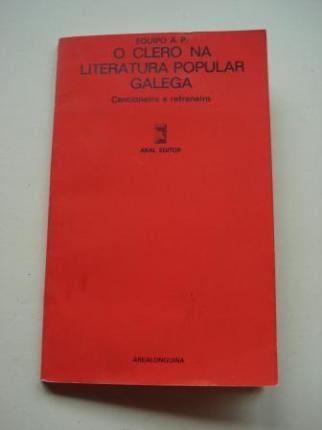 O Clero na literatura popular galega - Ver os detalles do produto
