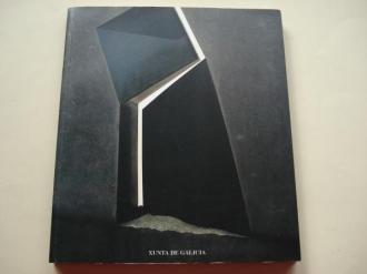 SILVERIO RIVAS. `Un alto no camiño´. Esculturas. Catálogo Exposición Casa da Parra, Santiago de Compostela, 1997 +Tríptico - Ver os detalles do produto