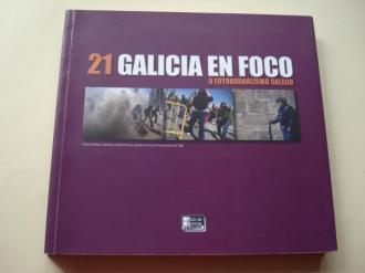 Galicia en Foco 21. O fotoxornalismo galego. Catálogo Exposición Ferrol, 2010 - Ver os detalles do produto