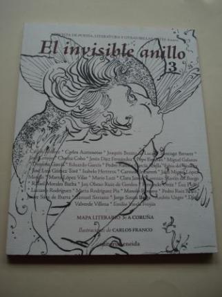EL INVISIBLE ANILLO. Revista de poesía, literatura y otras bellas artes. Nº 3. Mapa Literario 3: A CORUÑA - Ver os detalles do produto